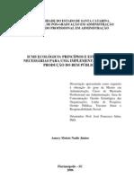 DISSERTAÇÃO MESTRADO - ICMS ECOLOGICO