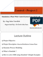 Control Project 2 - Part 1
