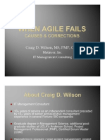 When Agile Fails
