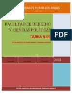 Derecho Civil Acto Jurídico Tarea N° 05 Ditta