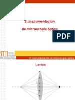 02- Instrumentacion microscopia optica
