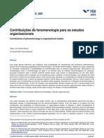 17 - Contribuicoes Fenomenologia Estudos Org
