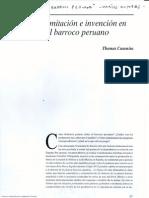 Imitación e invención en el barroco peruano - Thoms Cummins