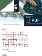 English Pronunciation module 4