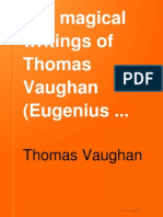 The Magical Writings of Thomas Vaugan - Vaughan; A.E. Waite