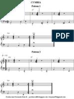 101405528 Acompanamiento Basico de Cumbia en Piano