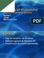 Windows XP Professional - Resumen General Tecnico