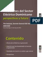 Inversiones del Sector Eléctrico Dominicano