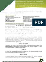 Dossier ES Dimensionnement Installation Solaire