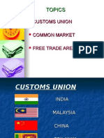 INTERNATIONAL MARKETING, CUSTOMS UNION, FREE TRADE AREA, COMMON MARKET!! ppt