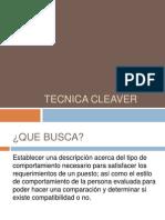 Tecnica Cleaver