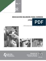 orientaciones pedagogicas sordos