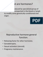 Hormonal Feedback Mechanism in Male and Female, In Reproductive Cycle, During Pregnancy and Lactation Note