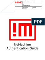 NoMachine Authentication Guide