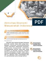 7. Aktivitas Ekonomi Masyarakat Indonesia