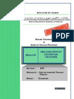 Module 24 Organisation Et Gestion de Chantier-BTP-TCCTP