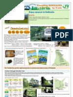 JR Hokkaido Mail Magazine - Enjoy summer in Hokkaido