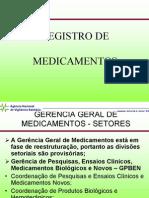 Registro de Medicamentos Anvisa
