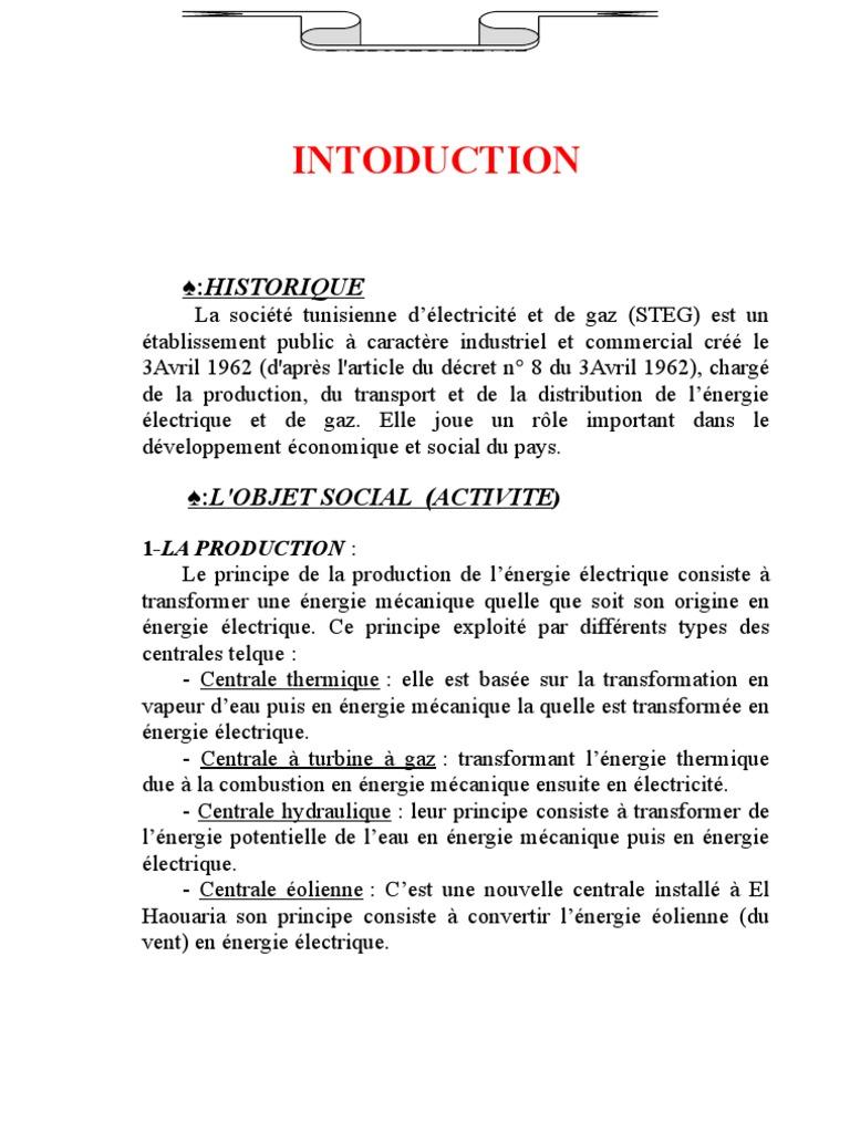 rapport de stage gestion hoteliere pdf
