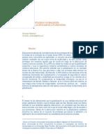 Inseguridad Ontologica y Globalizacion