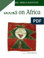 NAI Books on Africa Catalogue 2006-2007