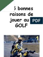 08-15 raisons de jouer au golf