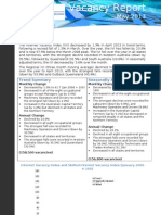 Vacancy Report May 2013
