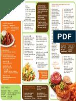 veggie grill menu
