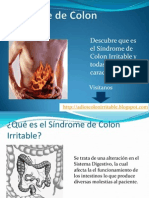 Síndrome de Intestino Irritable