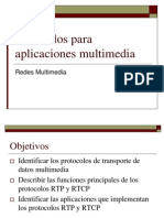 Clase4-Protocolos Para Aplicaciones Multimedia
