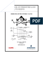 Emerson - Pressure Drop & Valve Sizing - 3-9008-550