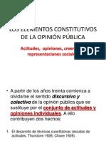 LOS ELEMENTOS CONSTITUTIVOS DE LA OPINIÓN PÚBLICA