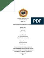PRAKTIKUM III.3 Proses Plasmolisis Dan Deplasmolisis