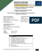 Analisis Redes Sociales y Comunidades Virtuales de Aprendizaje
