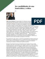 Redes Sociales Educacion Democratica y Critica