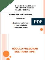 NÓDULO PULMONAR SOLITARIO (NPS) 20