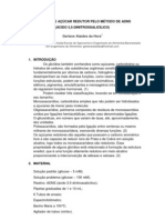 DOSAGEM DE AÇÚCAR REDUTOR PELO MÉTODO DE ADNS
