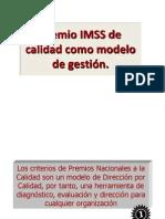 Modelos de Gestion y Premio IMSS