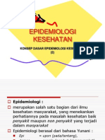 EPIDEMIOLOGI KESEHATAN