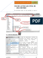01 Entorno Autocad Civil 3d 2012