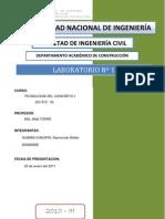 1 Lab Concreto
