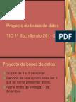 Proyecto de Bases de Datos