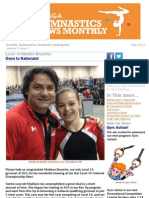 May Seattle Gymnastics Newsletter