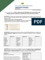 Guía 010 - Lenguaje - Creando poesía