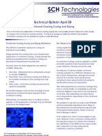 Conformal Coating Curing and Drying Technical Bulletin Apr 09
