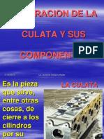 Reparacion de La Culata y Sus Componentes
