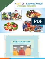 Diapositivas Saborizantes y Colorantes