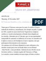 El Infierno Estuvo en Jasenovac