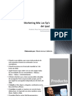 Marketing Mix Las 5p_s Del iPad
