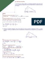 Geometría. Teoremas resueltos. (4º ESO)